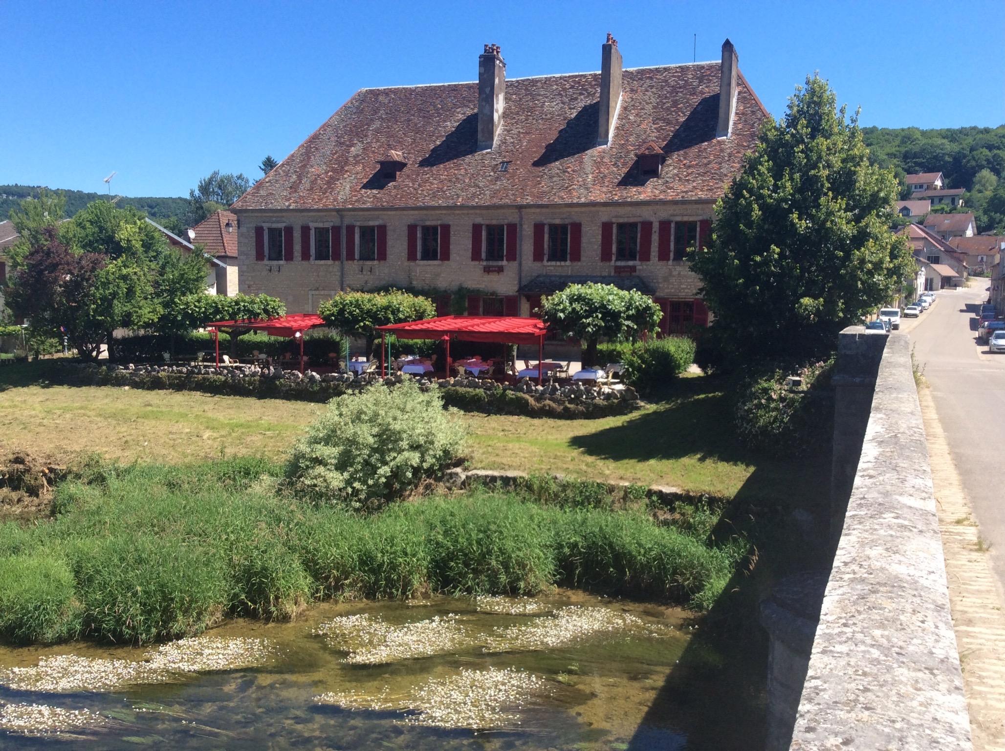 Chez Gervais - Terrasse extérieur Restaurant