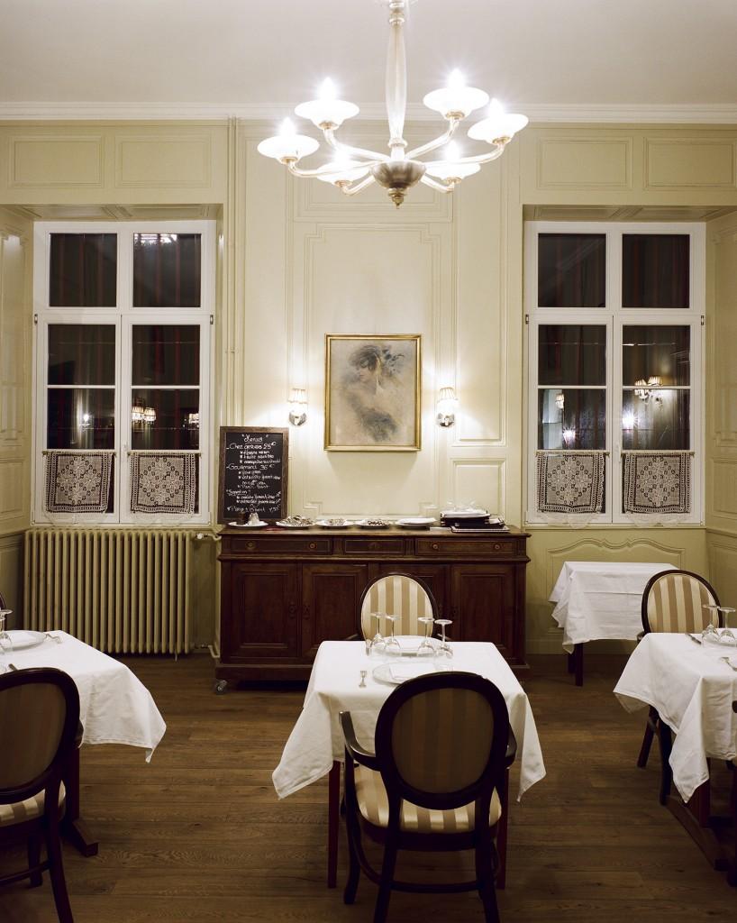Tables du restaurant Chez Gervais Chenecey