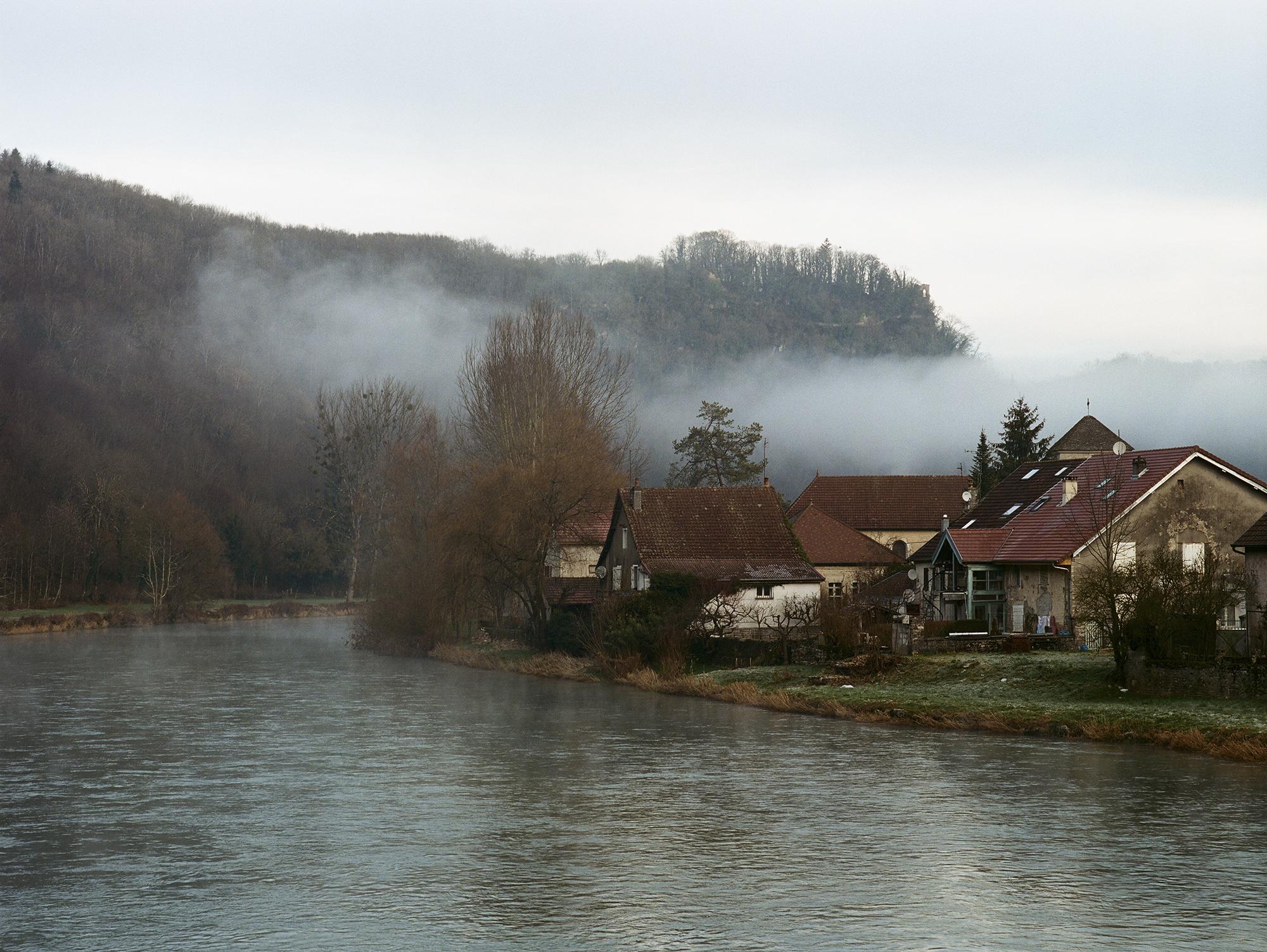 Hotel Chez Gervais Chenecey dans la brume